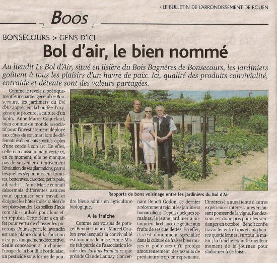 Le bol d'air...2010 dans notre.... Paris Normandie