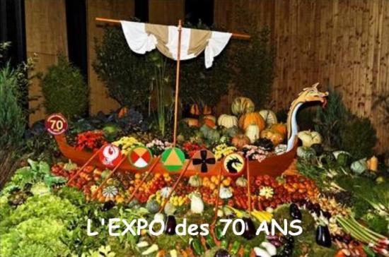 L'expo 2013 les 70 ans des jardins