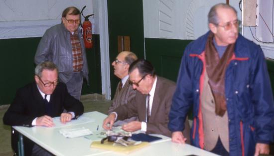 Le bureau en 1983
