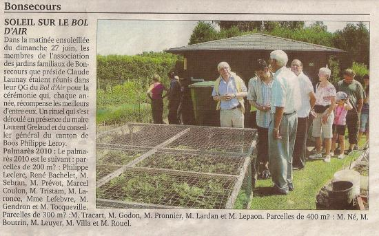 Jardin 2010